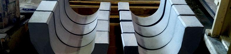 Custom-Engineered Precast Refractory Shapes