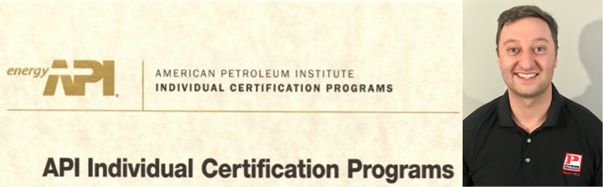 Brandon Sheldon - API 936 Certification