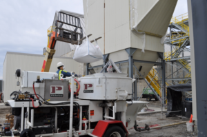 Plibrico On Job Site - Refractory Construction