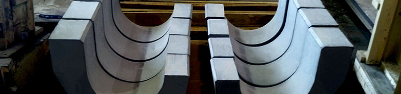 Custom-Engineered Precast Refractory Shapes