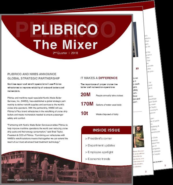 Plibrico - The Mixer Q2-2018 Cover